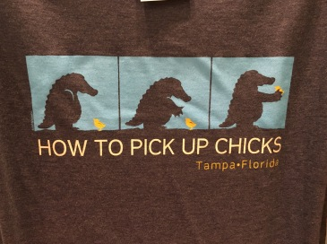 How to pick up chicks the right way