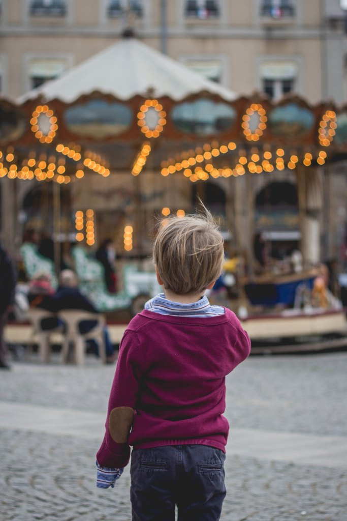 Family life can be a merry-go-round of frustration - but also joy.